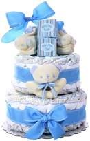 Kohl's Baby Boy Baby Cakes Size 2 Diaper Cake Gift Basket