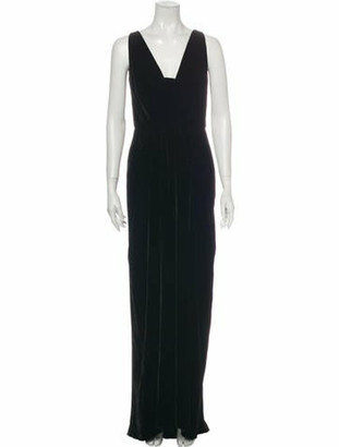 Oscar de la Renta 2008 Long Dress w/ Tags Black