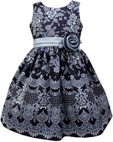 Jayne Copeland Navy Special Occasion Dress, Toddler Girls (2T-5T)