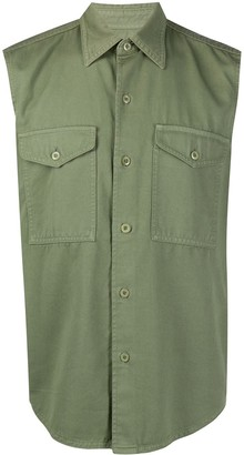 Ami Paris Sleeveless Overshirt