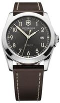 Victorinox Men's Infantry Watch with Brown Leather Strap