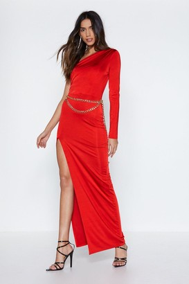 The One Nasty GalNasty Gal Womens Still Maxi Dress - Red - 10, Red