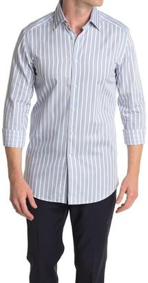 Reiss Antonio Block Stripe Slim Fit Shirt