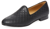 Del Toro Prince Quilted Leather Smoking Slipper