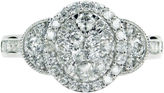 FINE JEWELRY LIMITED QUANTITIES! Womens 1 CT. T.W. Round White Diamond 10K Gold Engagement Ring
