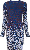 Lanvin leopard knitted dress