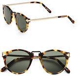 Helter Skelter Round Sunglasses/Crazy Tortoise