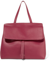 Mansur Gavriel Lady Mini Leather Tote - Claret
