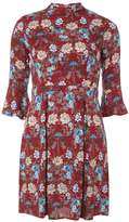 Izabel London **Izabel London Burgundy Floral Dress