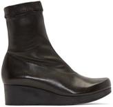 Robert Clergerie Black Nerdall Sock Boots