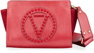 Mario Valentino Valentino By Kiki Studded Logo Shoulder Bag
