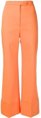 Sara Battaglia Flared Trousers