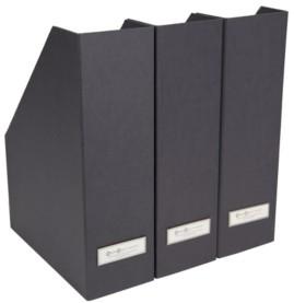 Bigso Box of Sweden Viktoria Mag File, Set of 3