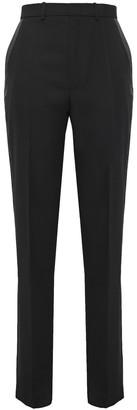 Joseph Fever Grain De Poudre Wool Straight-leg Pants