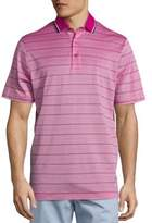 Saks Fifth Avenue COLLECTION Skinny Stripe Pique Polo