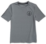 Volcom Boy's Thrashguard Distortion Rashguard