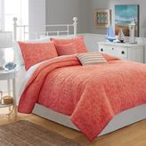 Southern Tide® Lagoon Full/Queen Quilt in Coral