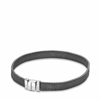 Pandora Women Silver Tennis Bracelet 598400C00-17