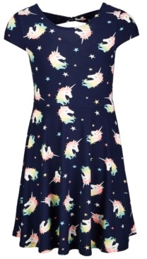 Epic Threads Big Girls All Over Print Bow Back Dress