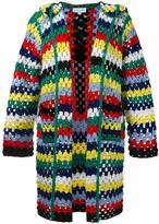 Mira Mikati blanket knit cardigan