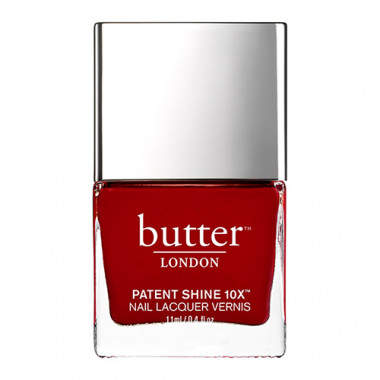 Butter London Patent Shine 10X Nail Polish - Her Majesty's Red