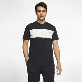 Nike Men's Short-Sleeve Top Hurley Dri-FIT Blocked