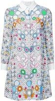 Peter Pilotto geometric print shirt dress - women - Viscose - 8