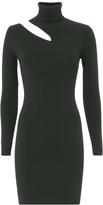 A.L.C. West Dress Cutout Turtleneck Dress