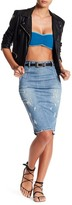 One Teaspoon French Blue Freelove Skirt
