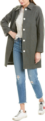 Rag & Bone Gemma Wool & Cashmere-Blend Coat