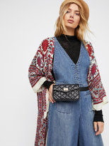 Free People Luna Quilted Pocket Belt