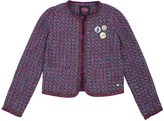 Juicy Couture Girls Knotted Tweed Jacket