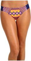 Hurley Mayan Stripe Aussie Tab Side Bottom (Orange) - Apparel