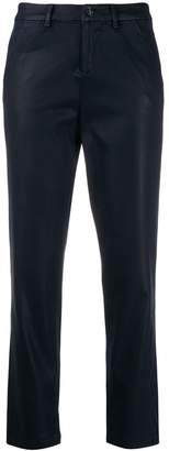 7 For All Mankind high waisted cropped trousers