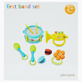 John Lewis My First Band Baby Toy Set
