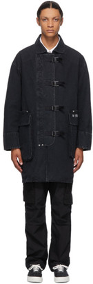 Neighborhood Black Dept Coat