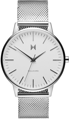 MVMT Womens Analogue Quartz Watch with Stainless Steel Strap D-MB01-S
