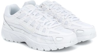 Nike P-6000 leather and mesh sneakers