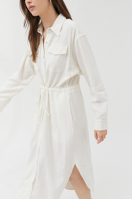 Urban Outfitters Edison Linen Shirtdress