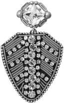 Banana Republic Crystal Medal Brooch