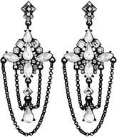 Lipsy Crystal Draped Chandelier Earring