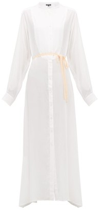 Ann Demeulemeester Ewing Buttoned Maxi Dress - Womens - Ivory