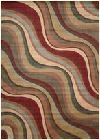 Nourison New Wave Rectangular Rug