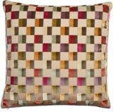 Dransfield and Ross Clarendon Check Pillow