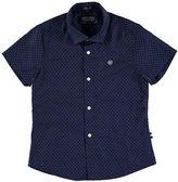 Mayoral Short-Sleeve Printed Poplin Shirt, Size 3-7