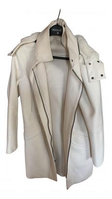 Vince White Cashmere Coats