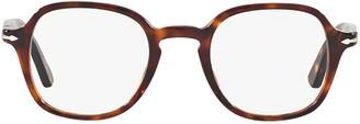 Persol Tortoise Shell Square Frame Glasses