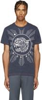 Diesel Navy T-Joe-Gu Tiger T-Shirt