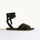 Maje Flat sandals with studs
