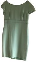 Gianni Versace Green Wool Dress for Women Vintage
